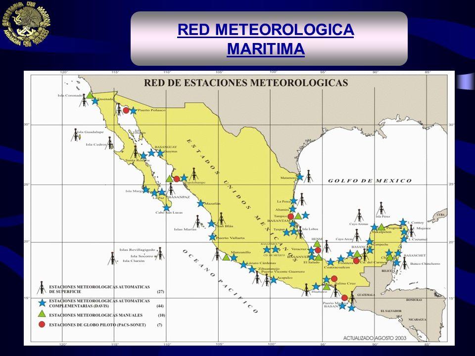 RED METEOROLOGICA MARITIMA