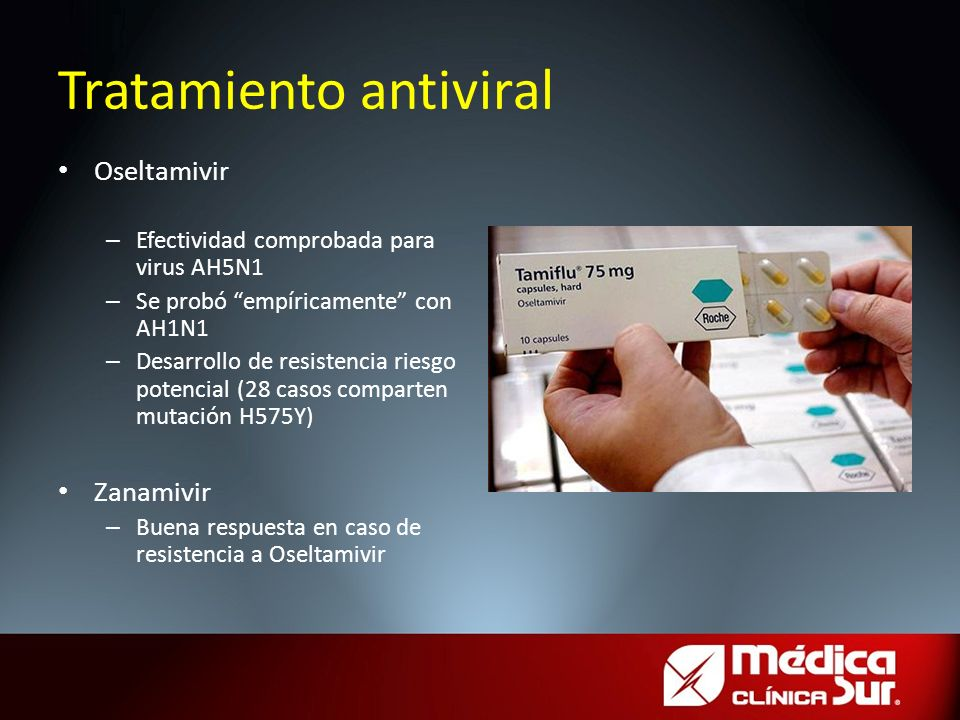 Tratamiento antiviral