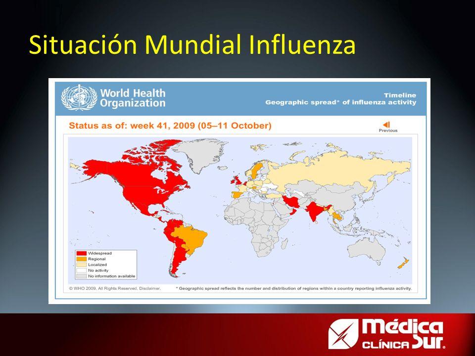 Situación Mundial Influenza