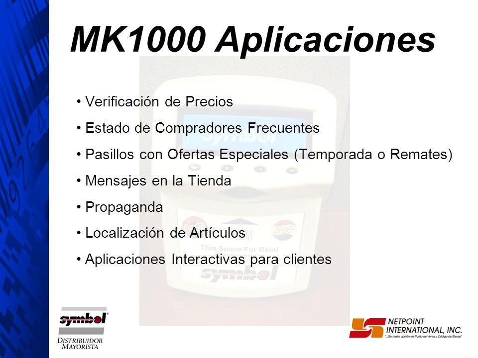 MK1000 Aplicaciones Verificación de Precios
