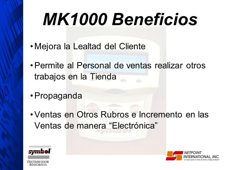 MK1000 Beneficios Mejora la Lealtad del Cliente