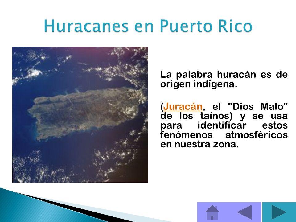 Huracanes en Puerto Rico