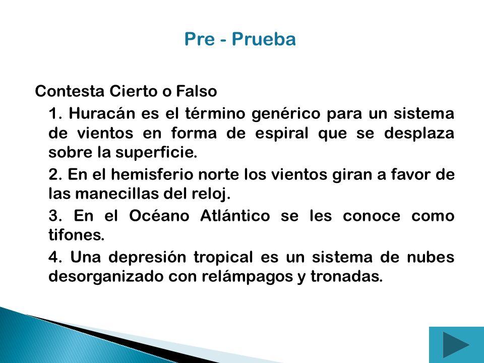 Pre - Prueba