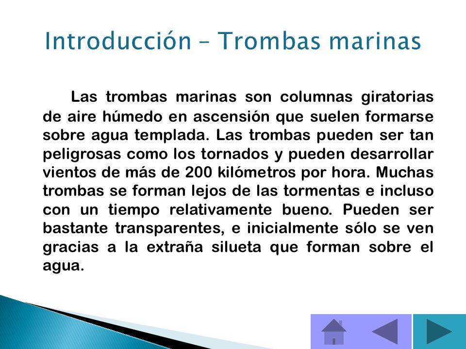 Introducción – Trombas marinas