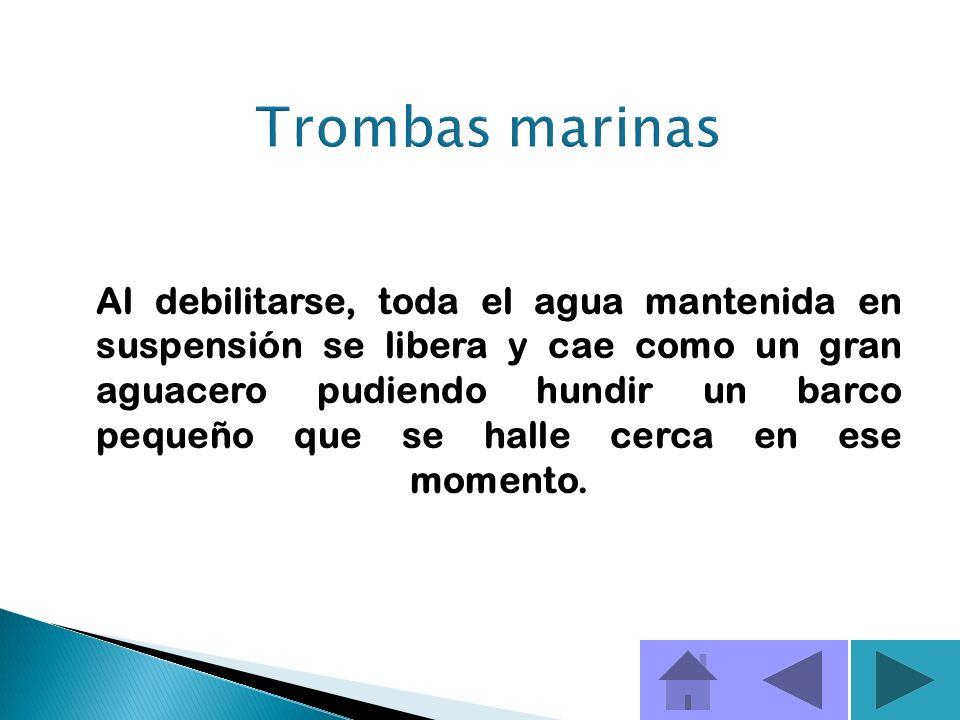 Trombas marinas