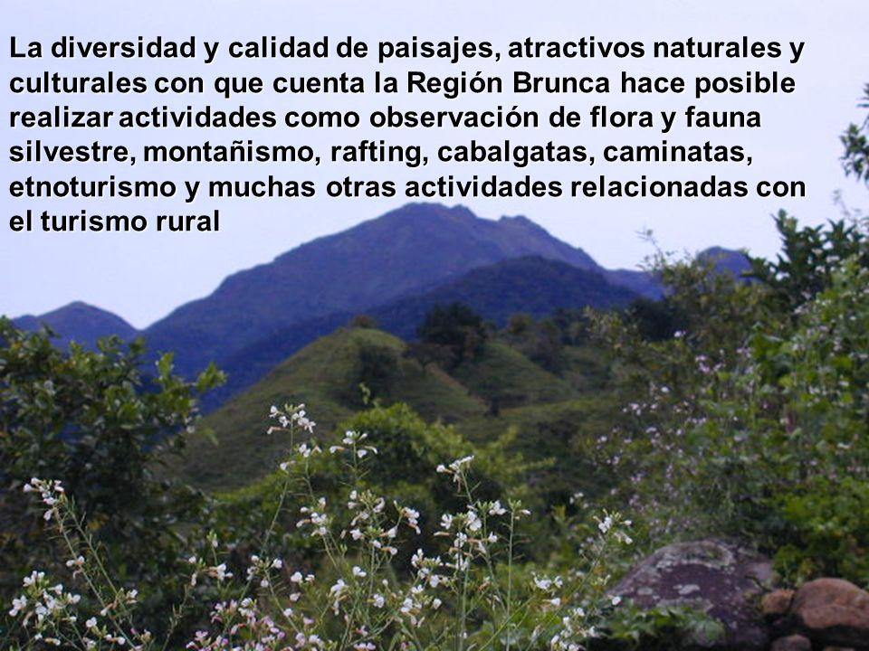 La diversidad y calidad de paisajes, atractivos naturales y