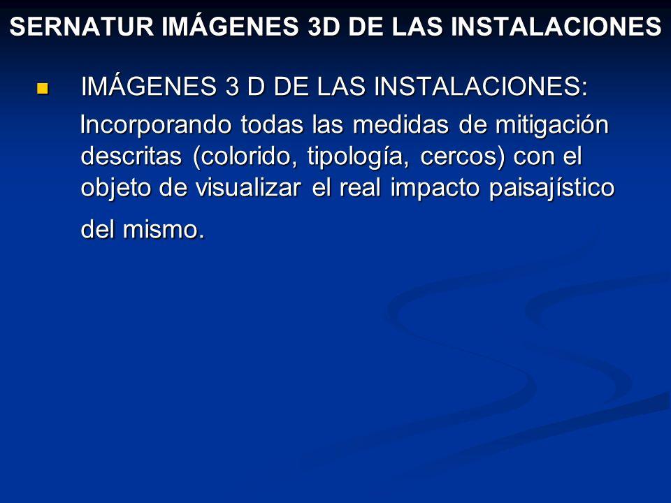 SERNATUR IMÁGENES 3D DE LAS INSTALACIONES