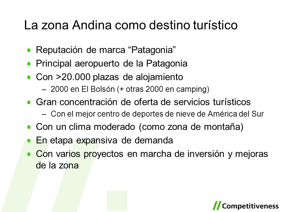 La zona Andina como destino turístico