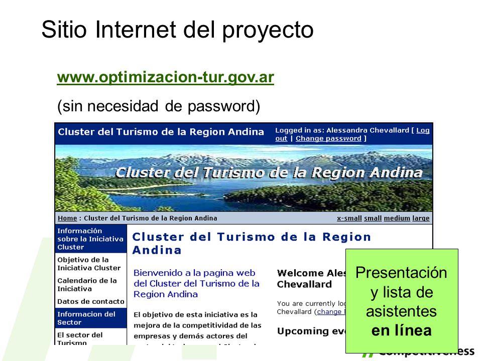 Sitio Internet del proyecto