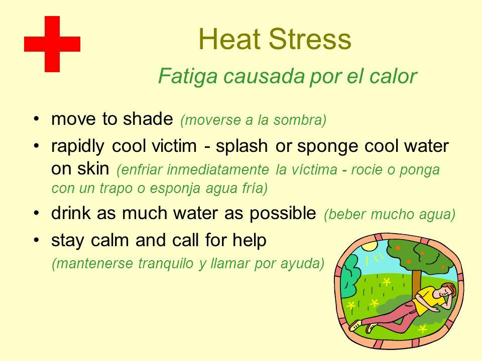 Heat Stress Fatiga causada por el calor
