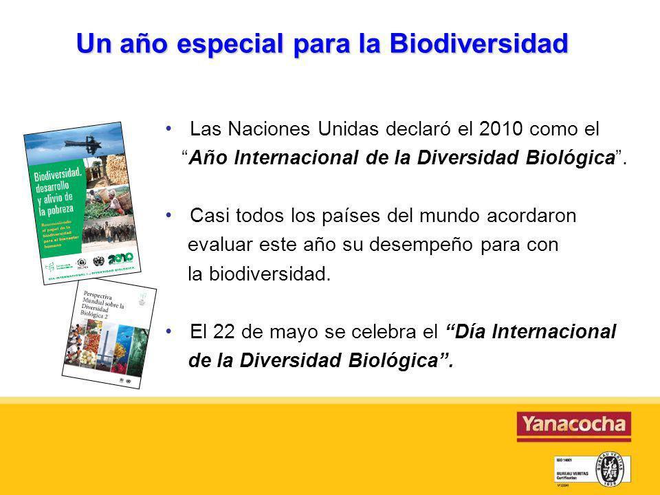 Un año especial para la Biodiversidad