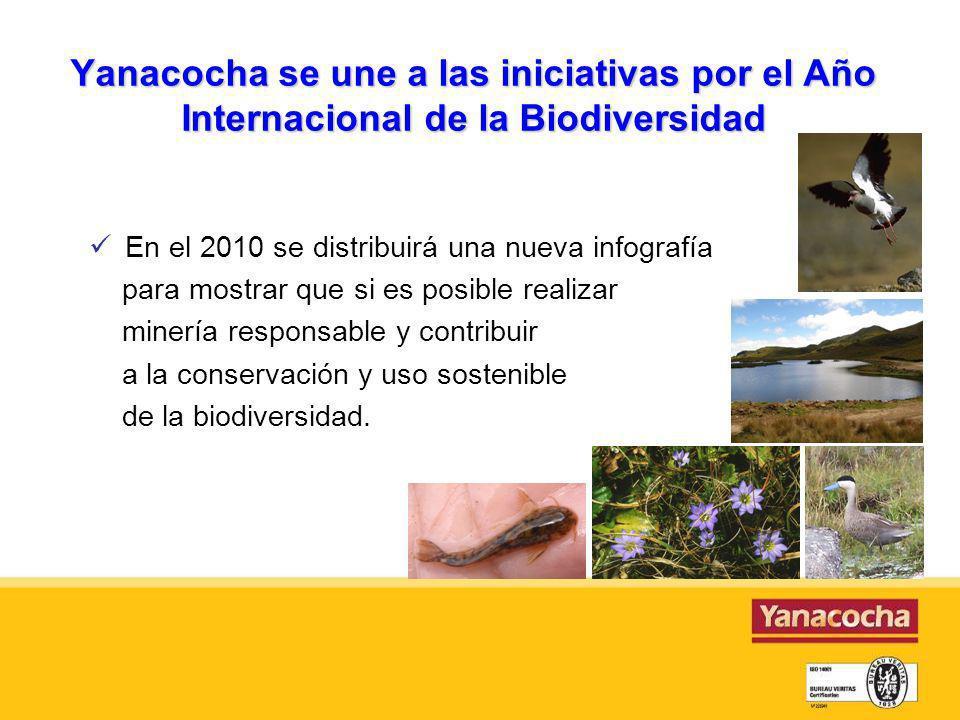 Yanacocha se une a las iniciativas por el Año Internacional de la Biodiversidad