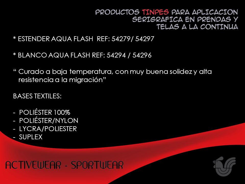 ESTENDER AQUA FLASH REF: 54279/ 54297
