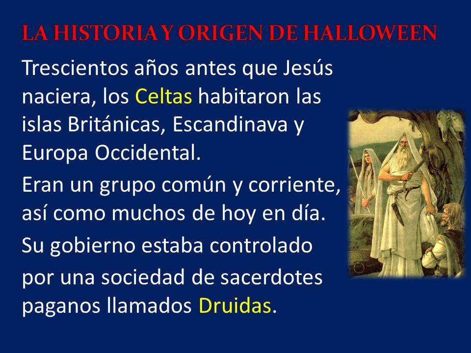 LA HISTORIA Y ORIGEN DE HALLOWEEN