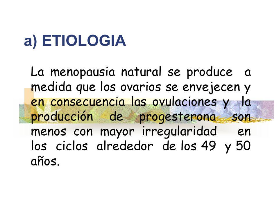 a) ETIOLOGIA