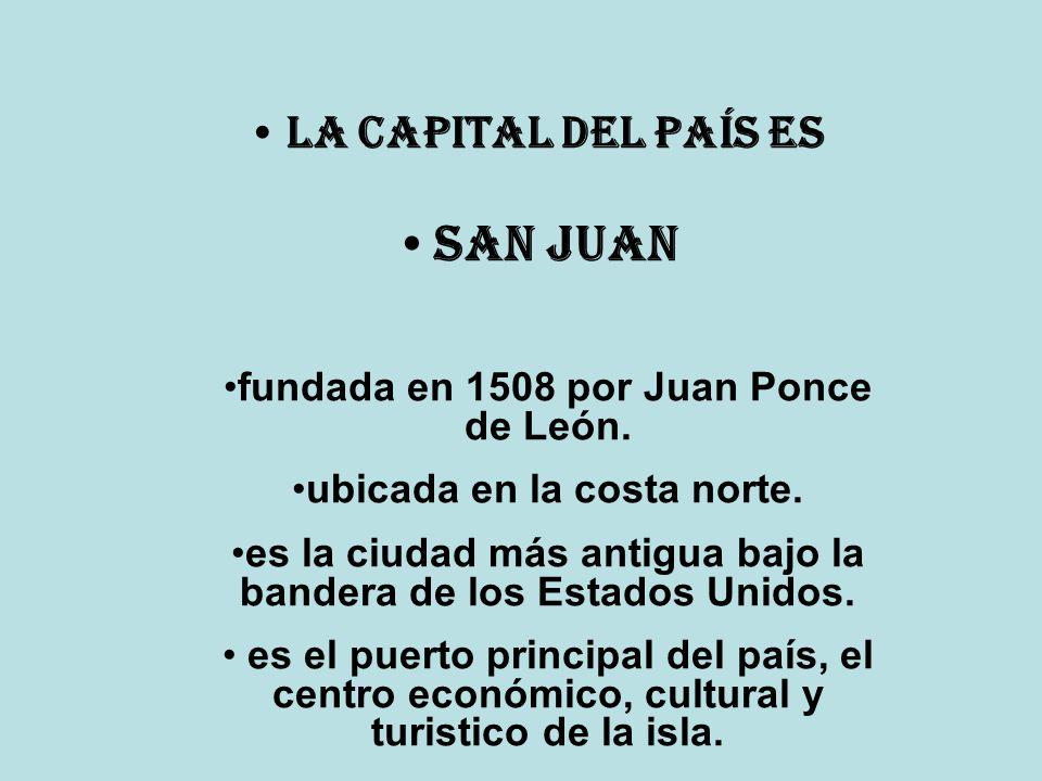 San Juan La Capital del país es