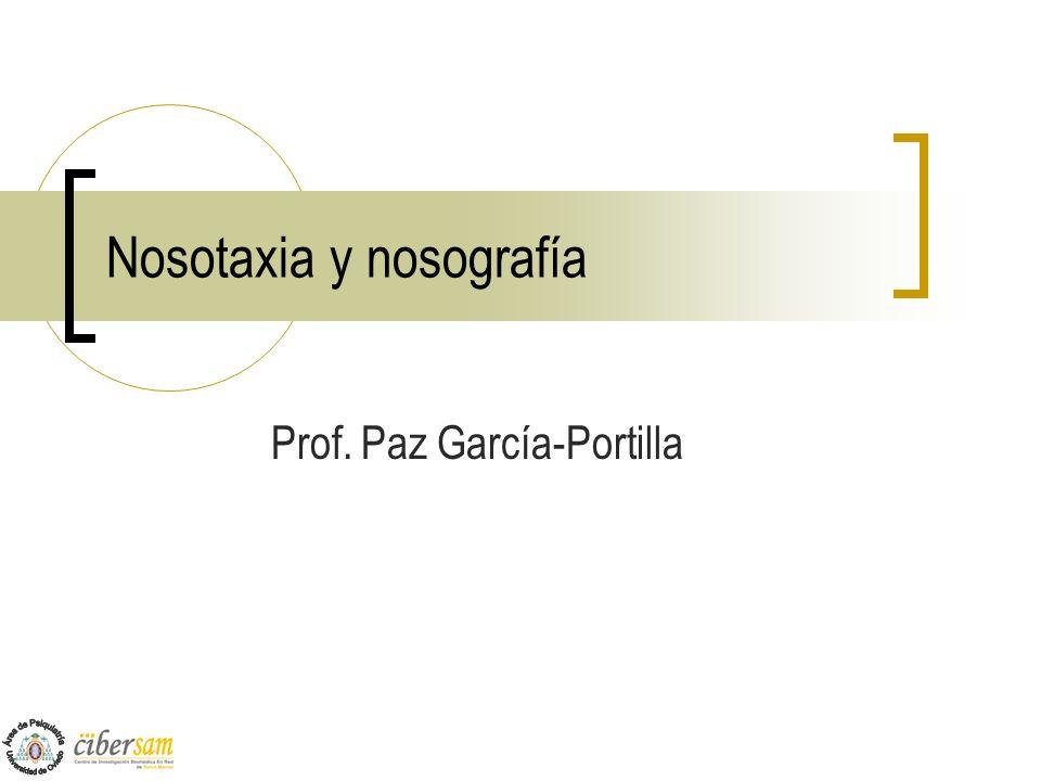 Nosotaxia y nosografía