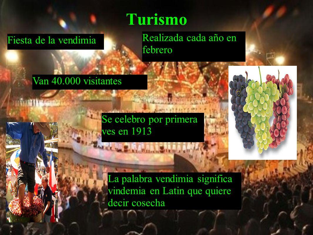 Turismo Realizada cada año en febrero Fiesta de la vendimia