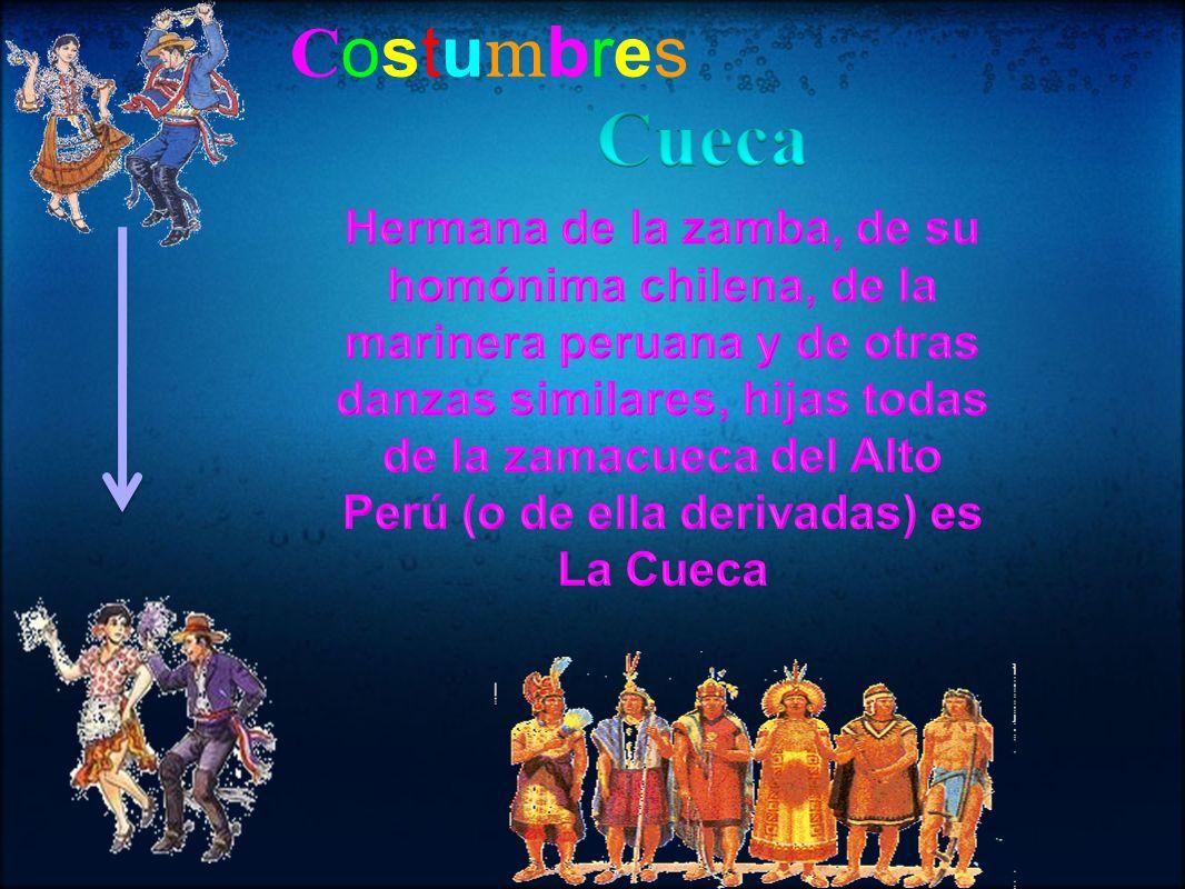 Costumbres Cueca.