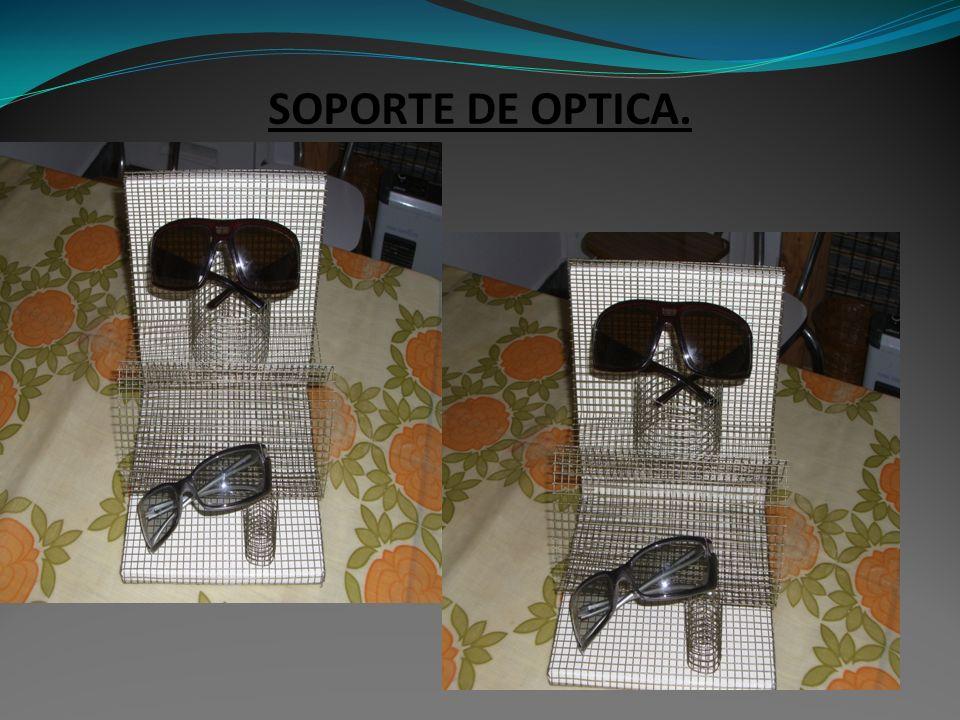 SOPORTE DE OPTICA.