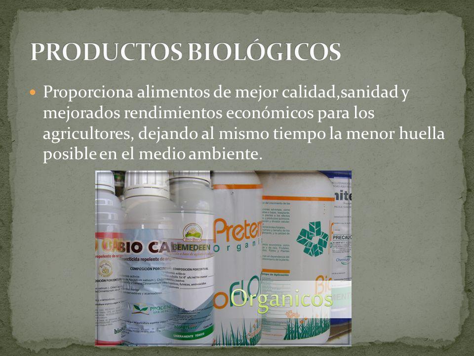 PRODUCTOS BIOLÓGICOS