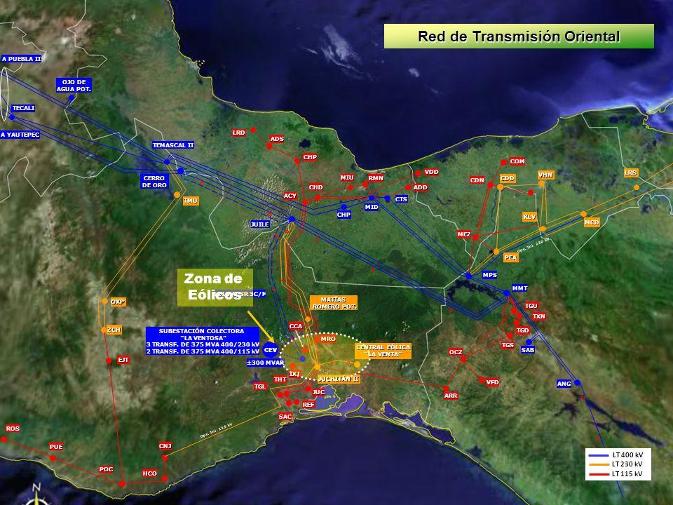Red de Transmisión Oriental