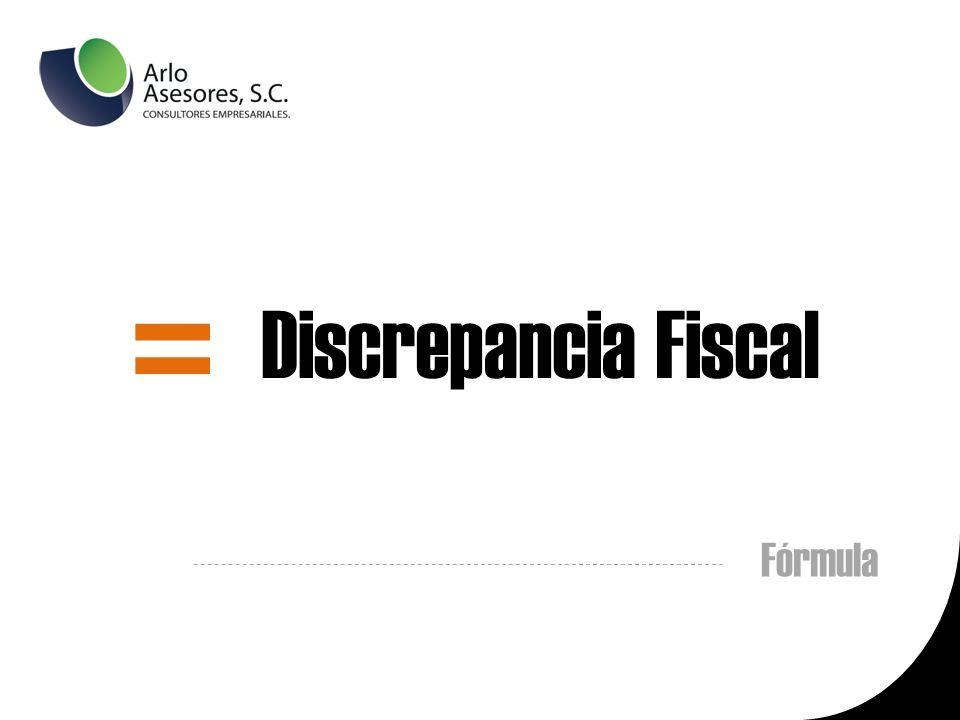 Discrepancia Fiscal = Fórmula