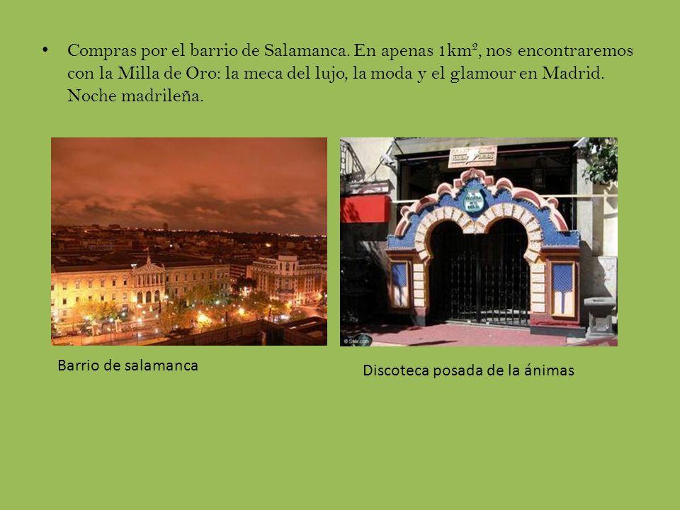 Compras por el barrio de Salamanca