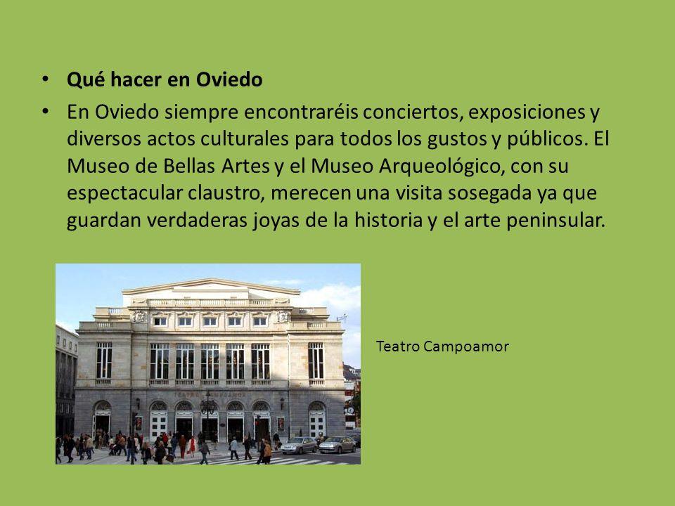 Qué hacer en Oviedo