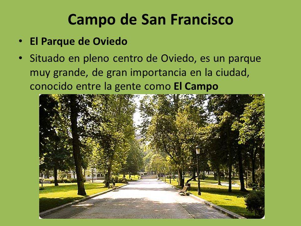 Campo de San Francisco El Parque de Oviedo