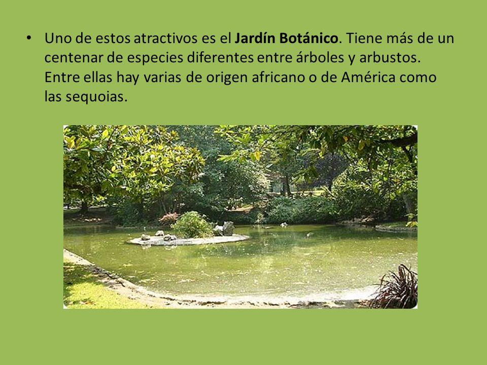 Uno de estos atractivos es el Jardín Botánico