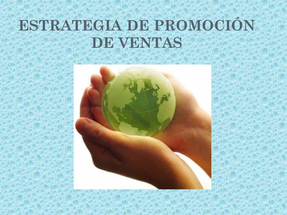 ESTRATEGIA DE PROMOCIÓN DE VENTAS