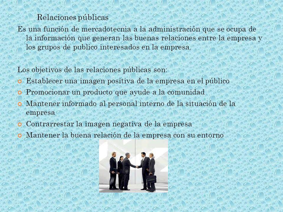 Relaciones públicas