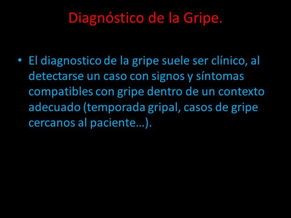 Diagnóstico de la Gripe.