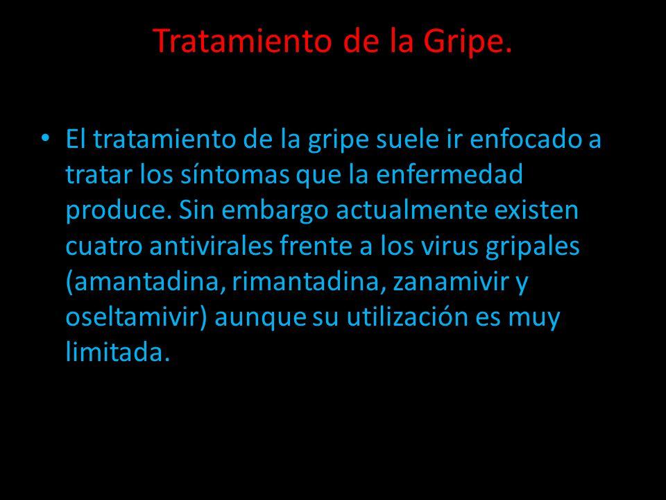 Tratamiento de la Gripe.