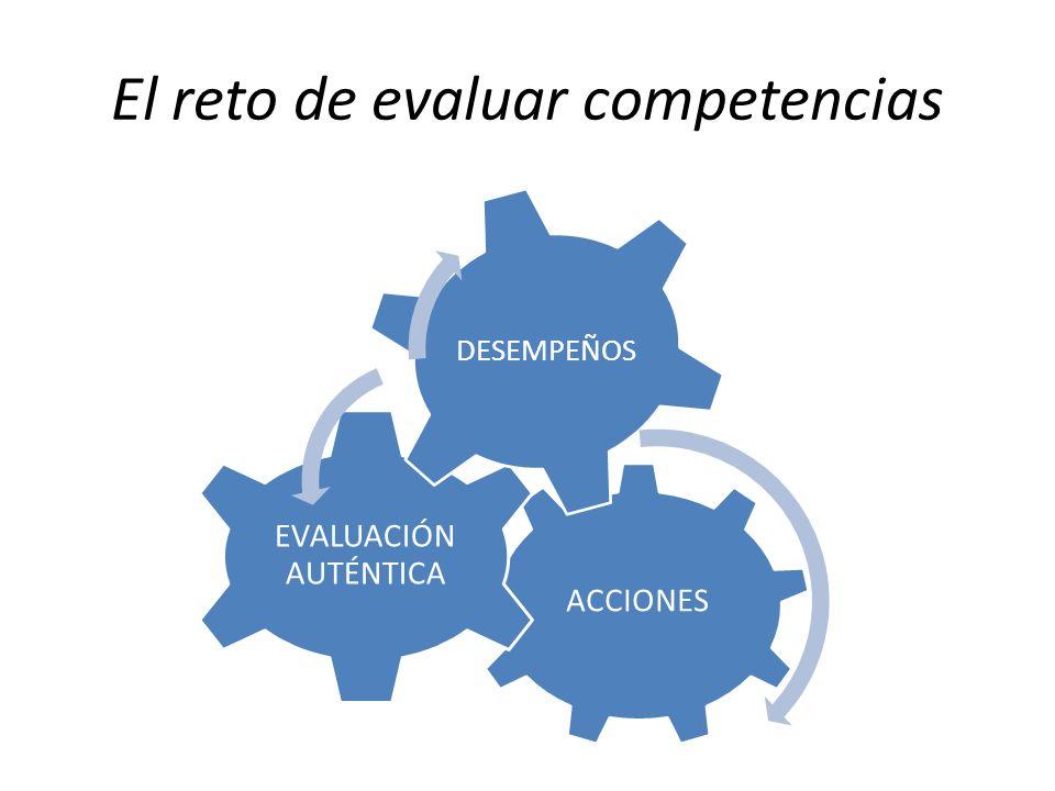 El reto de evaluar competencias