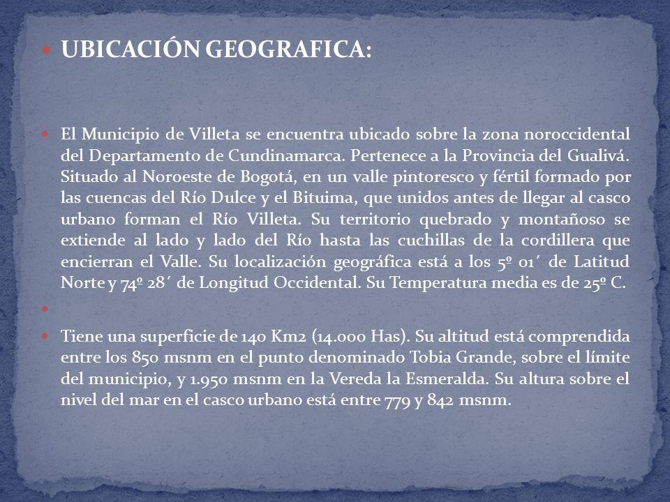 UBICACIÓN GEOGRAFICA:
