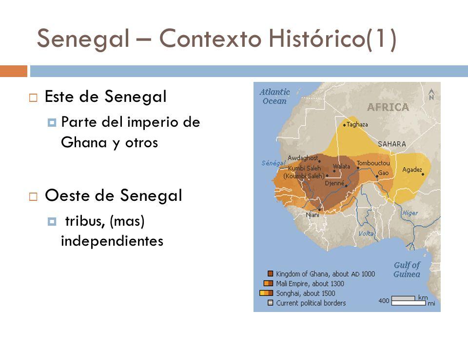 Senegal – Contexto Histórico(1)