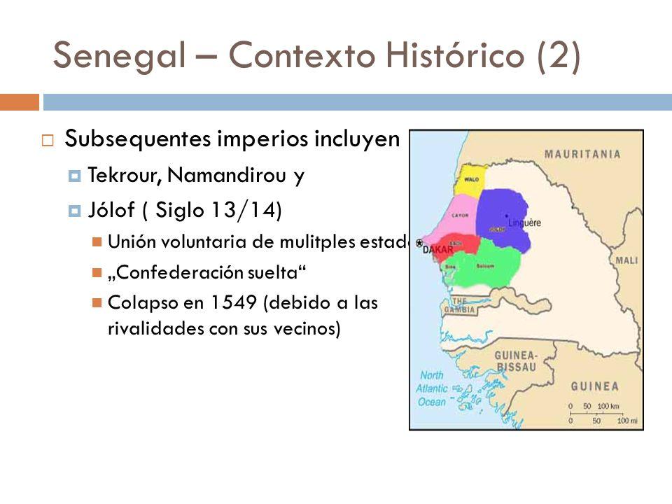 Senegal – Contexto Histórico (2)