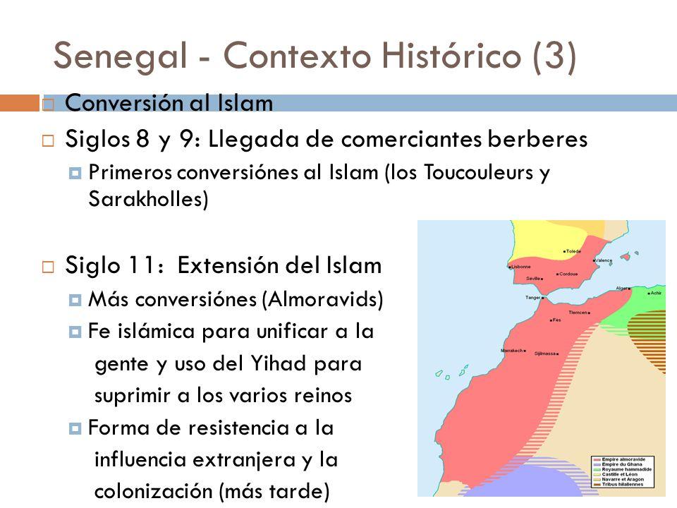Senegal - Contexto Histórico (3)