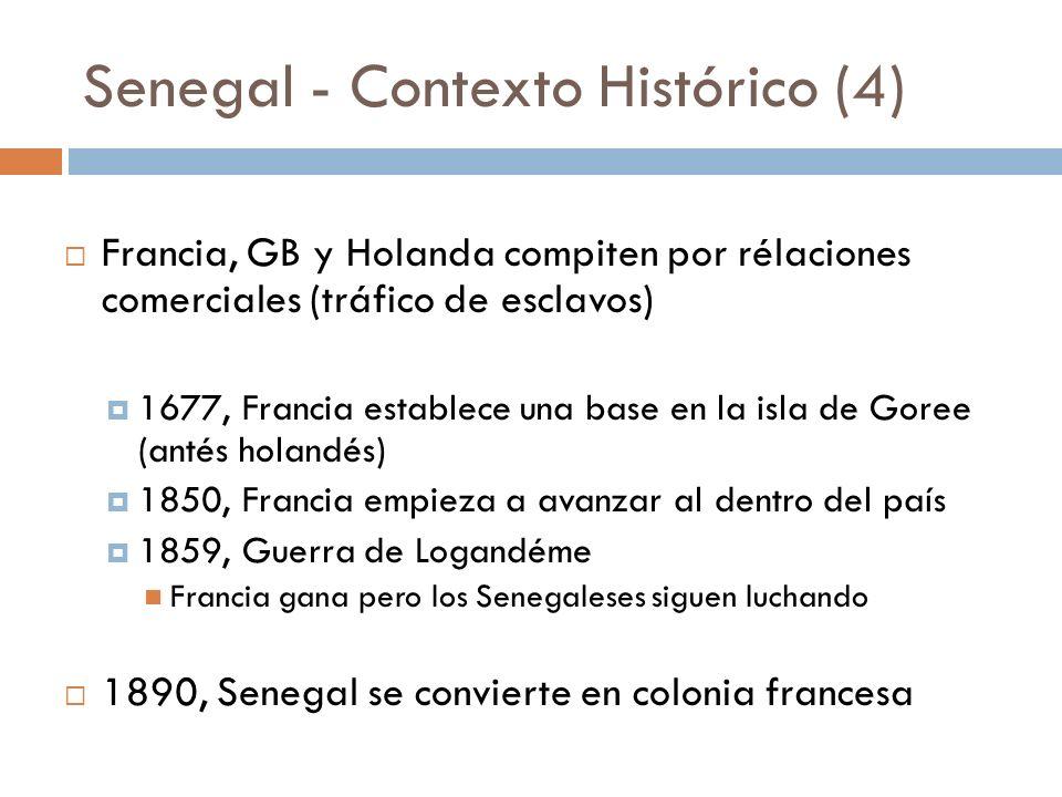 Senegal - Contexto Histórico (4)