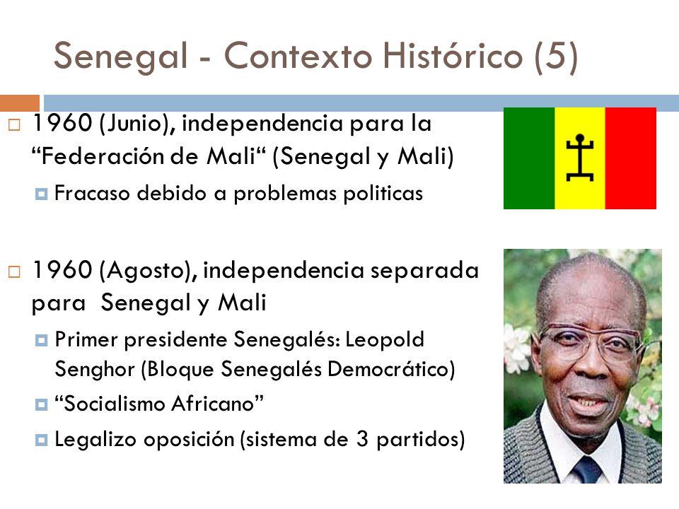 Senegal - Contexto Histórico (5)