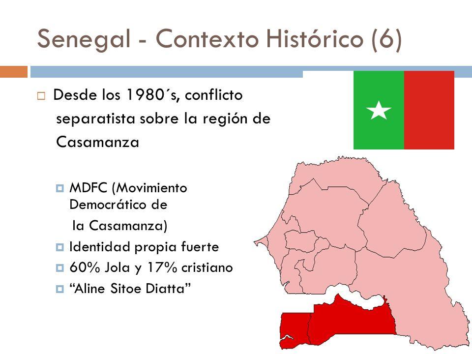 Senegal - Contexto Histórico (6)