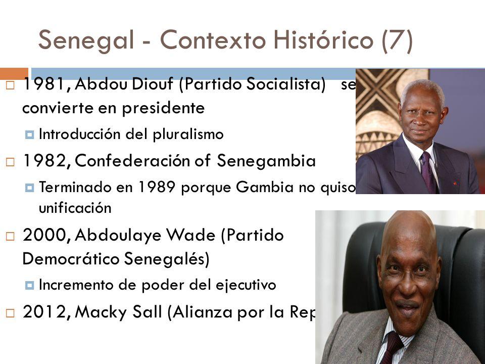 Senegal - Contexto Histórico (7)