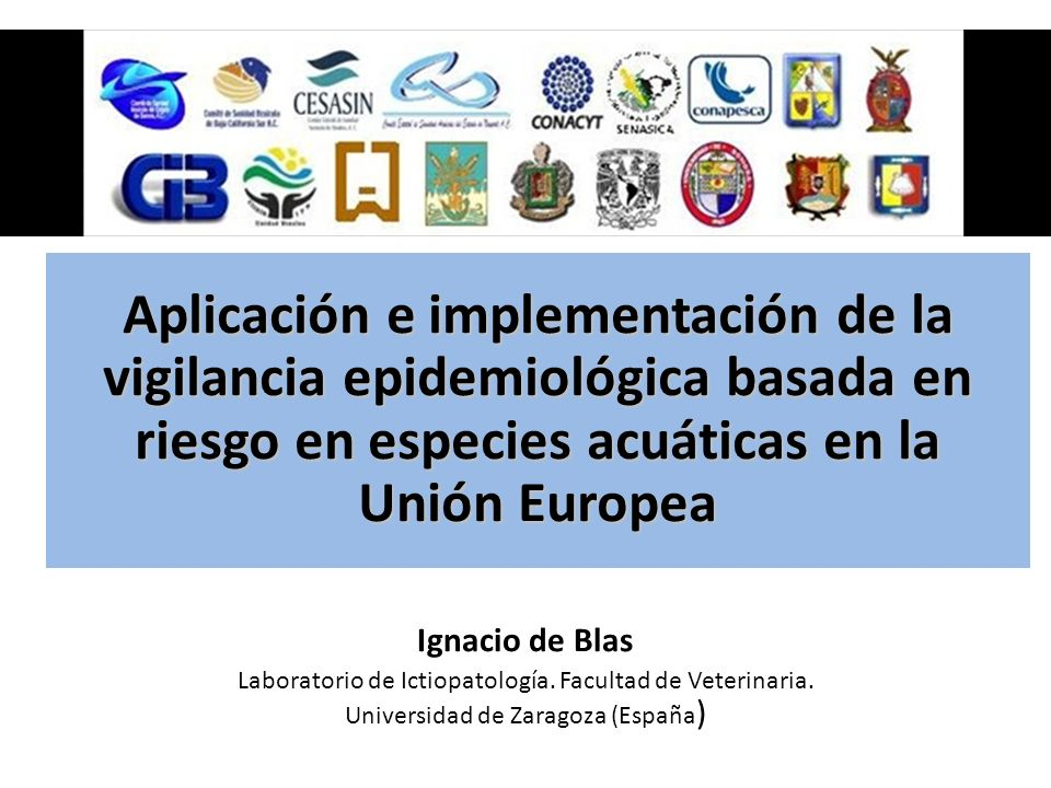 Aplicación e implementación de la vigilancia epidemiológica basada en riesgo en especies acuáticas en la Unión Europea