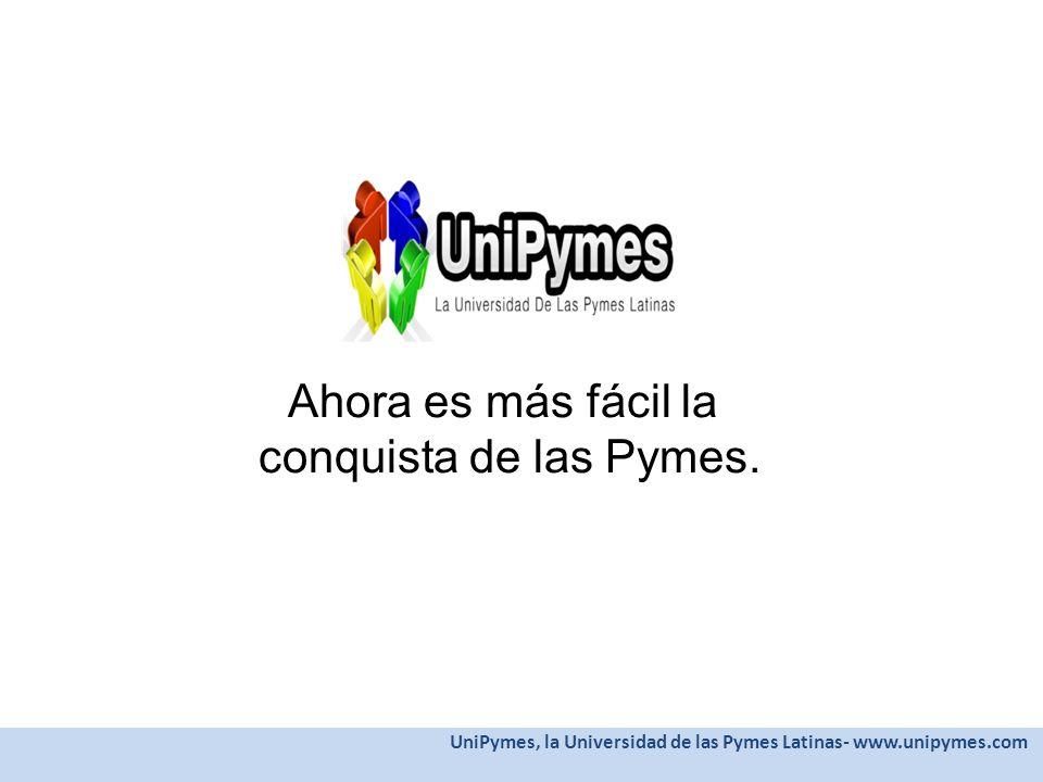 Ahora es más fácil la conquista de las Pymes.