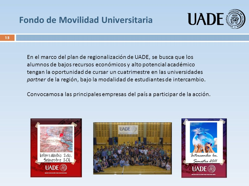 Fondo de Movilidad Universitaria