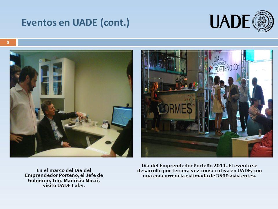 Eventos en UADE (cont.)