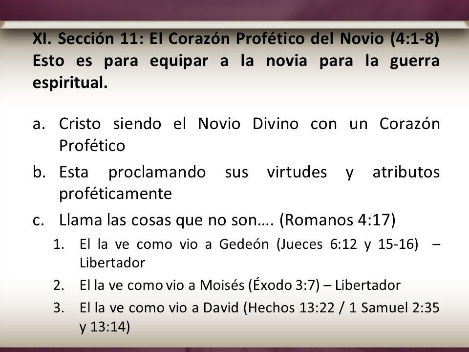 Cristo siendo el Novio Divino con un Corazón Profético