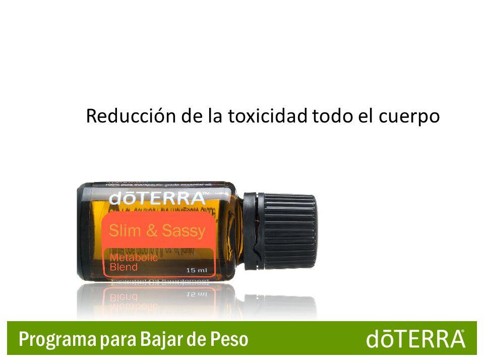 Reducción de la toxicidad todo el cuerpo